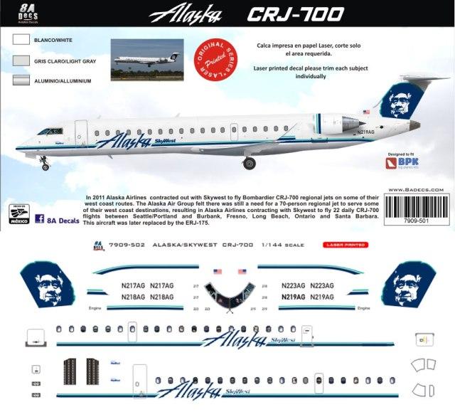 8A-502-Alaska-Skywest-CRJ700-Profile-812-W