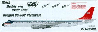 WSL-297P-Douglas-DC-8-32-Northwest-Box-812-W