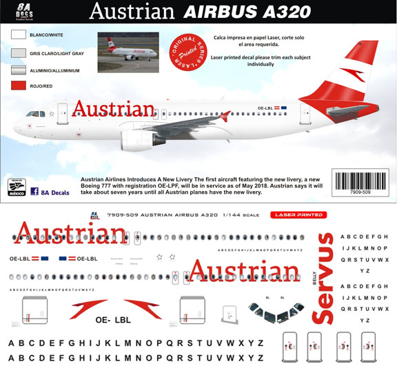 8A-509-Austrian-2019-cs-Airbus-A320-Profile-and-Decal-812-W