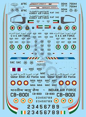 FunD-14001-McDD-C17A-Globemast-Decal-S-W