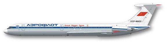 FunD-14012-Aeroflot-1973-Il62-Profile-812-W