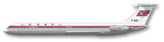 FunD-14014-AirKoryo-Il62-Profile-812-W