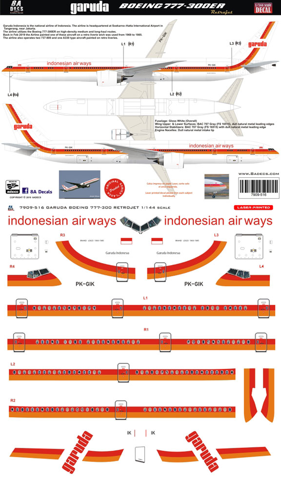 8A-516-Garuda-retro-B777-300-Profile-and-Decal-812-W