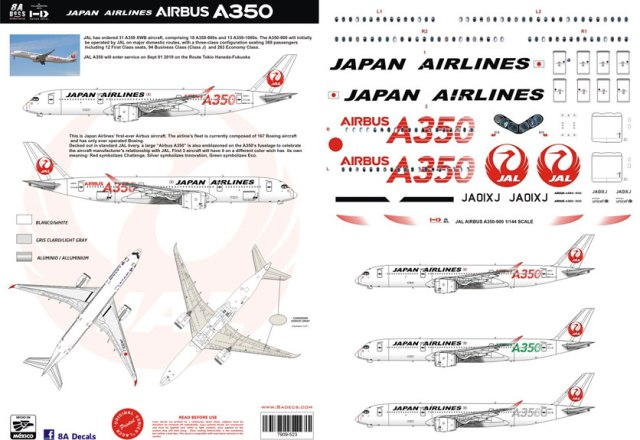 8A-523-Japan-Airlines-A350-900-Profile-and-Decal-812-W