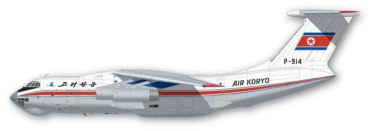 FunD44-007-CAAK-Air-Koryo-Il76-Profile-812-W