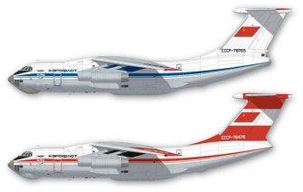 FunD44-010_Aeroflot-Il-76-Profile-812-W