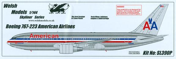 WSL390P-B767-200-American-Box-812-W