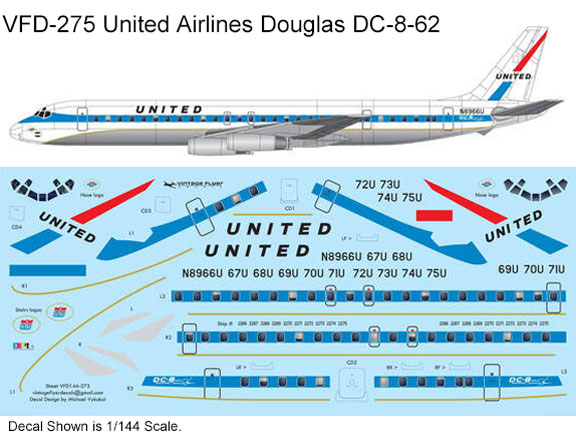 VFD-275-United-delivery-DC-8-62-Profile-and-Decal-812-W