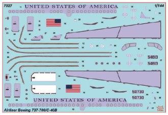 ZVE-7027-Boeing-737-700-C40B-USofA-Decal-712-W