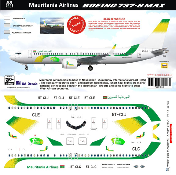 8A-550-Mauritania-Airlines-B737-Max8-Profile-and-Decal-812-W