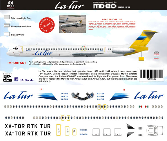 8A144-539-LaTur-McDD-MD80-Profile-and-Decal-812-W