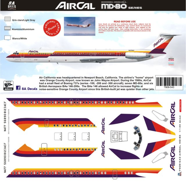 8A144-543-AirCal-McDD-MD80-Profile-and-Decal-W