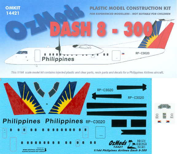 OMK14421-DHC8-300-Philippines-Box-and-Decal-812-W