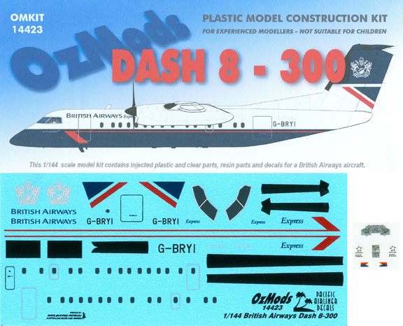 OMK14423-DHC8-300-British-Airways-Box-and-Decal-812-W