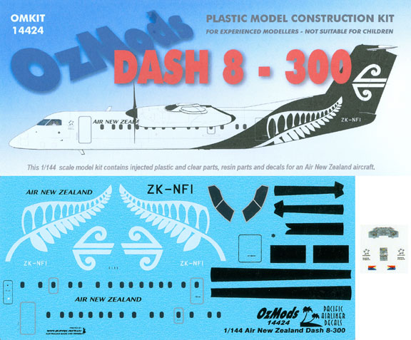 OMK14424-DHC8-300-Air-New-Zealand-Box-and-Decal-812-W