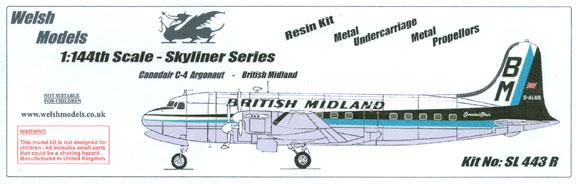 WSL-443R-Canadair-C4-Argonaut-Britsh-Midland-Box-812-W