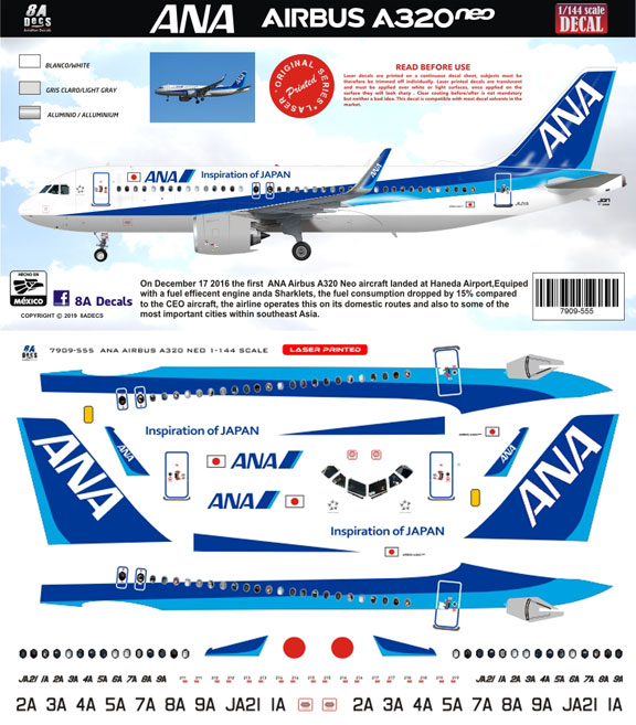8A-555-All-Nippon-A320NEO-Instructions-and-Decal-812-W