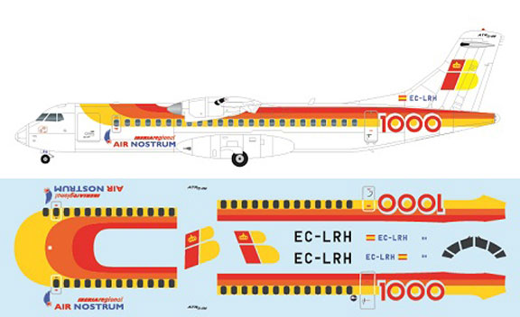 FR-P4113-Iberia-Exp-Air-Nostrum-ATR72-Profile-and-Decal-812-W
