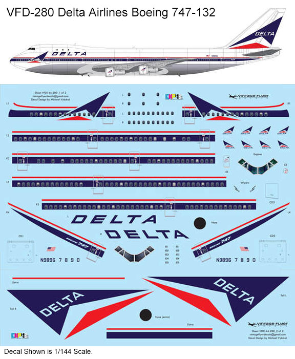 VFD-280-Delta-Airlines-B747-Profile-and-Decal-812-W