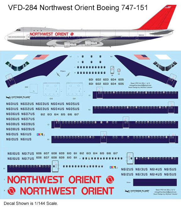 VFD-284-Northwest-Orient-B747-Profile-and-Decal-812-W