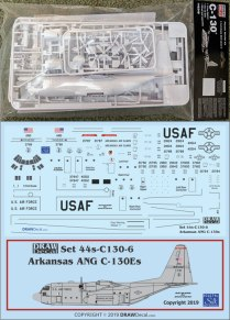 M1452B-C130-Kit+DW44-C130-5-USAF-Arkansas-ANG-812-W