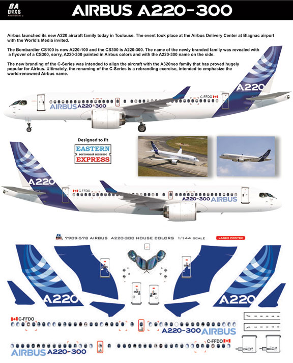 8A-578-Airbus-'house'-cs-A220-Instructions-and-Decal-812-W