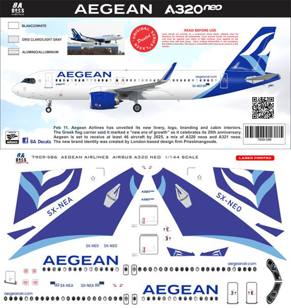 8A-586-Aegean-A320NEO-Instructions-and-Decal-812-W