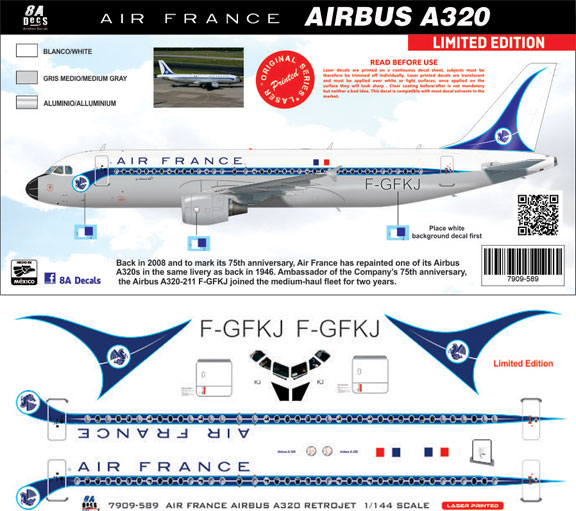 8A-589-Air-France-retro-A320-Instructions-and-Decal-812-W