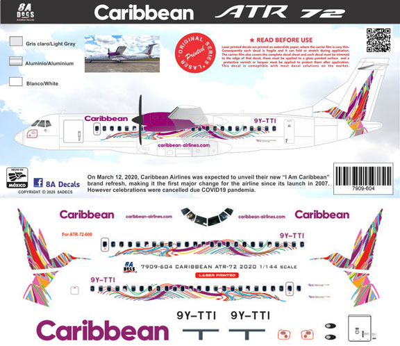 8A-604-Caribbean-Airlines-ATR72-Profile-and-Decal-812-W
