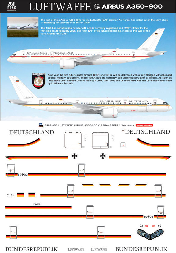 8A-605-German-Republic-Airbus-A350-900-Profile-and-Decal-812-W