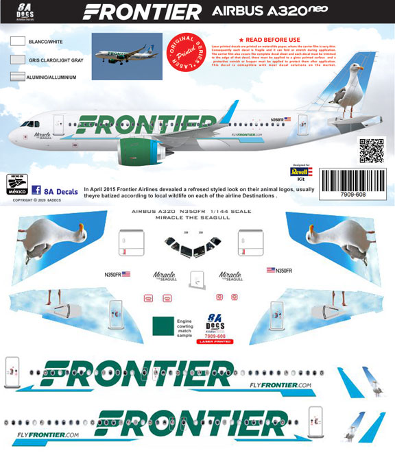 8A-608-Frontier-A320NEO-Instructions-and-Decal-812-W
