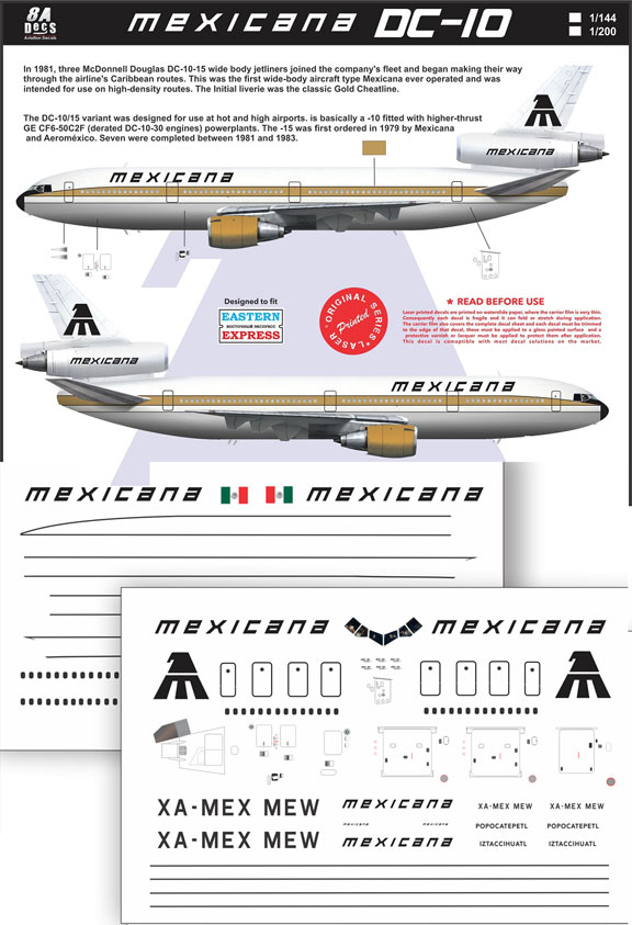 8A-632-Mexicana-DC-10-Profile-and-Decal-812-W